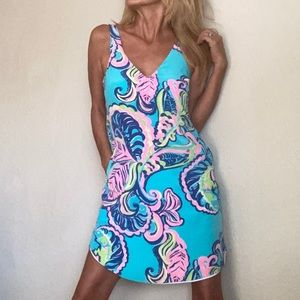 Lilly Pulitzer New pocket silk dress